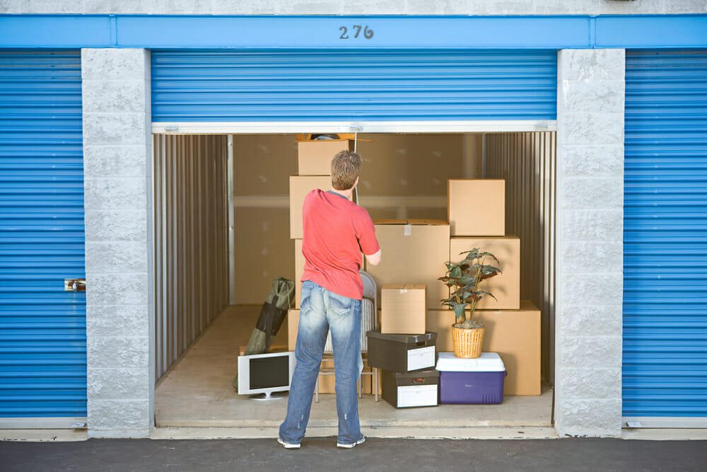 Preparing your belongings for long-term storage
